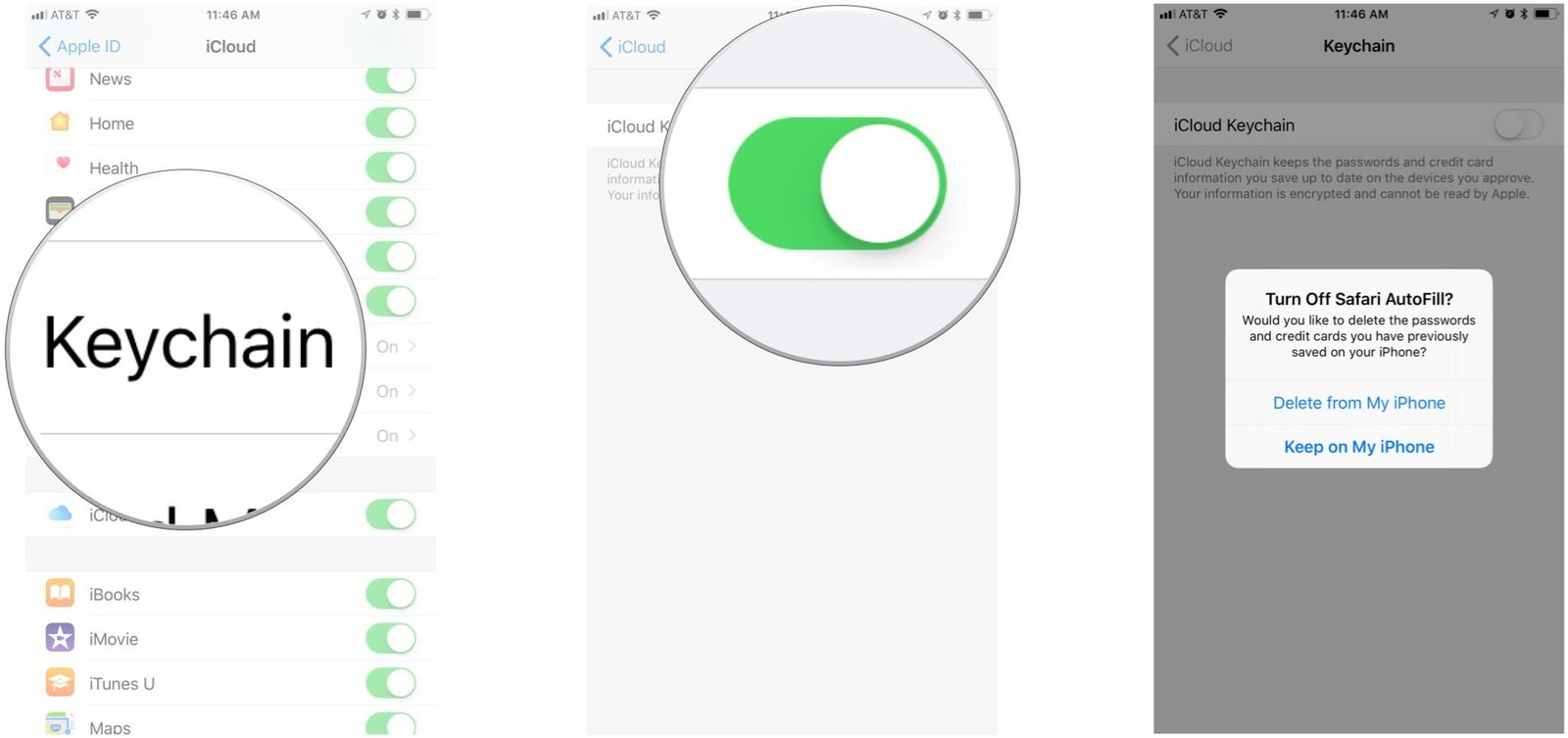 How to use iCloud Keychain on iPhone and iPad  7df07ece0