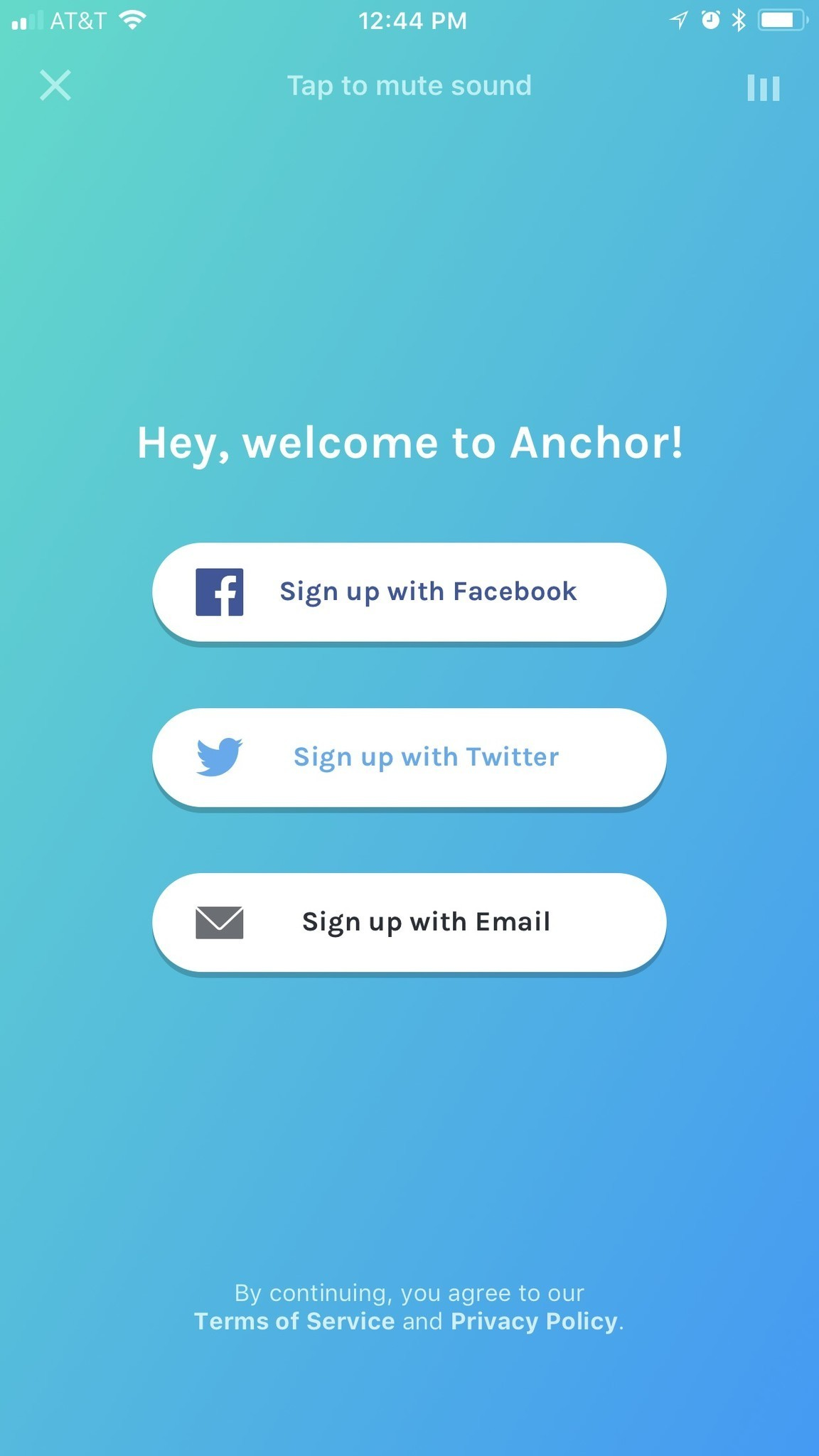 Anchor for iOS