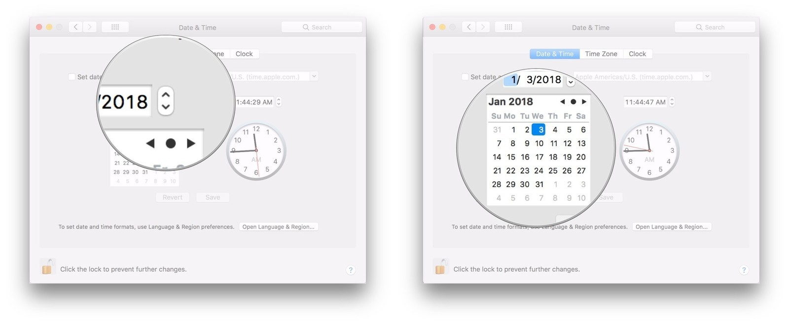How to fix your Mac's clock when it displays the wrong time