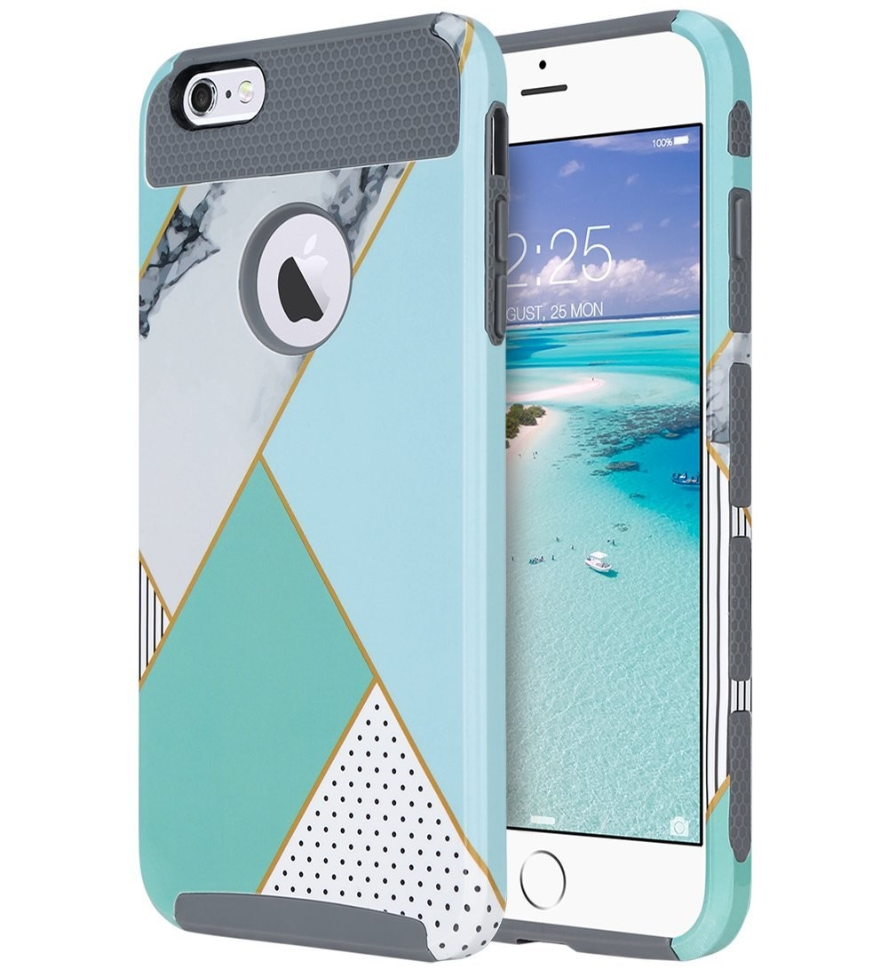best iphone 6 cases in 2019 imoresoft on the inside, tough (and incredibly fashion forward!) on the outside that\u0027s what the ulak iphone 6 slim hybrid case delivers to your iphone!