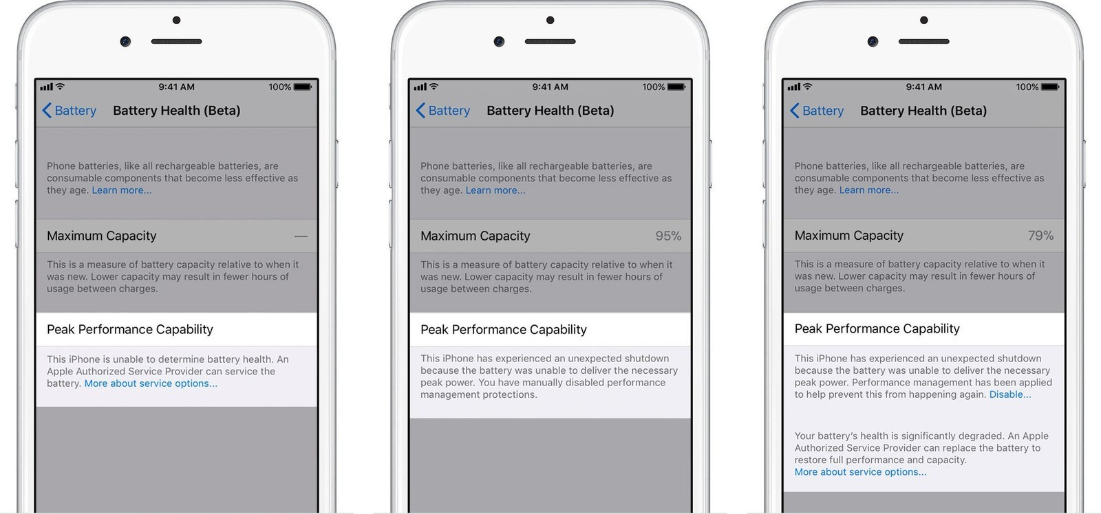 premium selection 02b8b ed4b6 How to use Battery Health in iOS 11.3 to monitor and control power ...