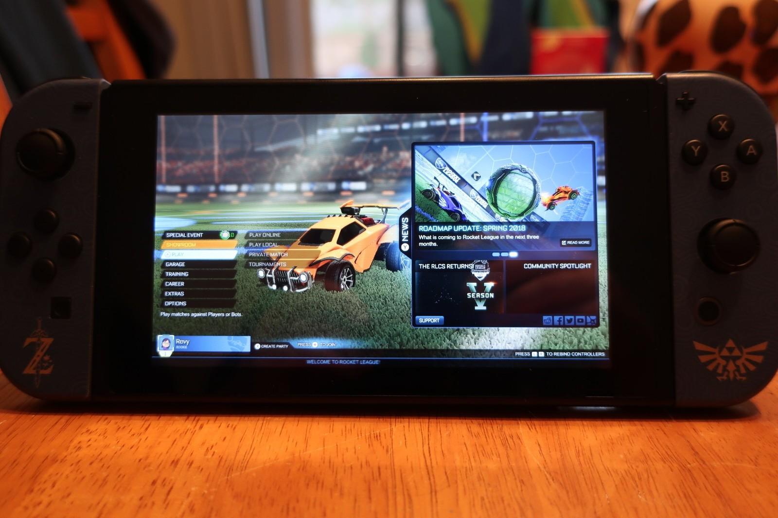 how to play rocket league cross platform with the nintendo. Black Bedroom Furniture Sets. Home Design Ideas