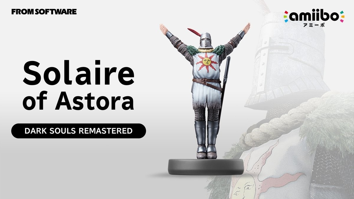 Dark Souls Remastered For Nintendo Switch Everything You Need To 3 Way Always On The Version Of Gets One Extra Bonus An Amiibo A Solaire Astora Will Launch Alongside Game By Tapping