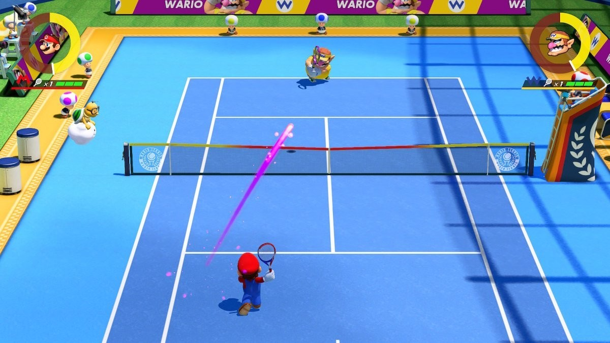 Watch some Mario Tennis Aces gameplay on Pro level