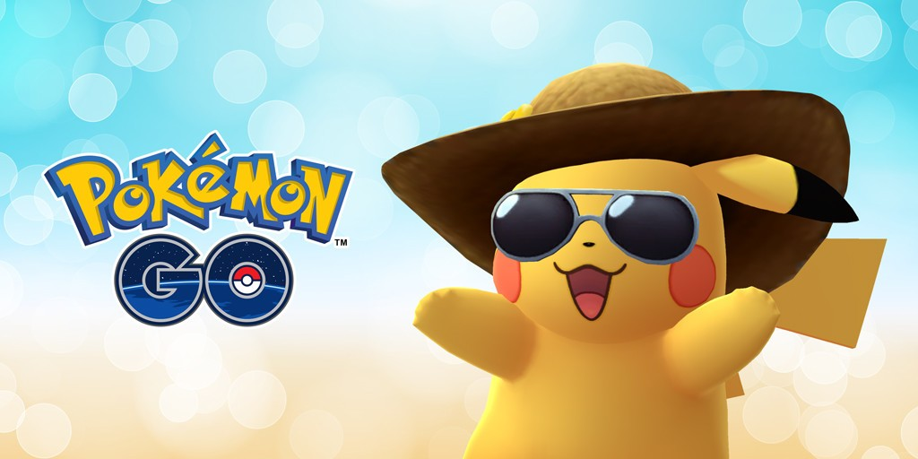 346c73527e9 ... birthday with another special Pikachu  This time with a straw hat and  sunglasses. But