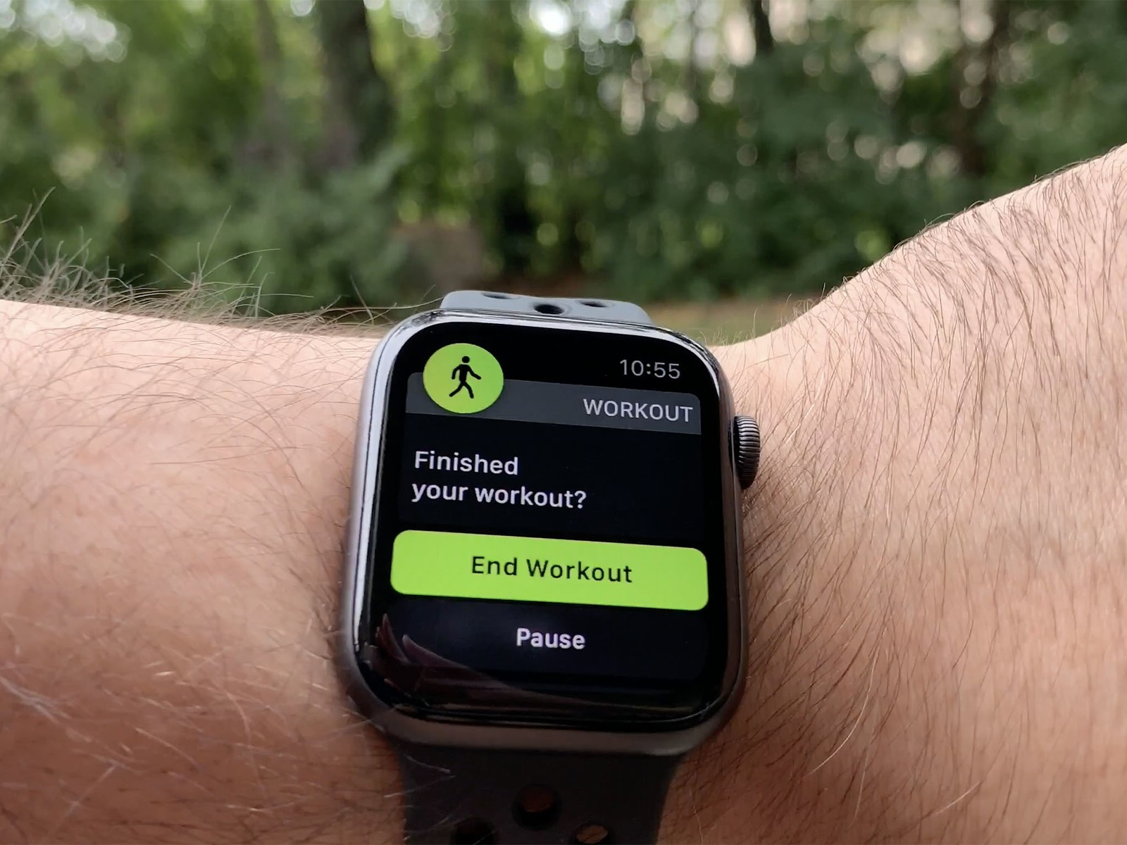 Pacer Sabroso Incomodidad  Apple Watch Nike+ Series 4 Review   iMore