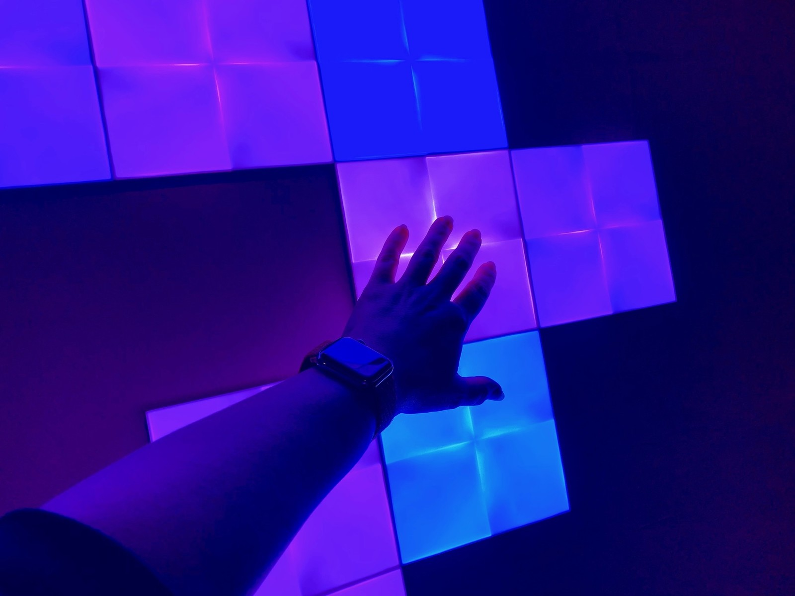 nanoleaf canvas review futuristic art you re supposed to touch imore