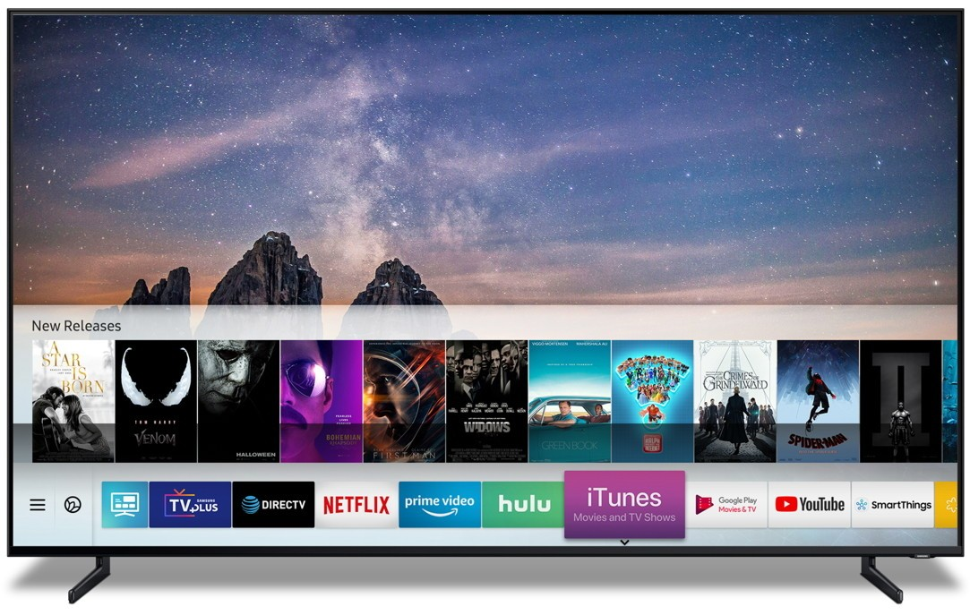 Samsung TV with iTunes