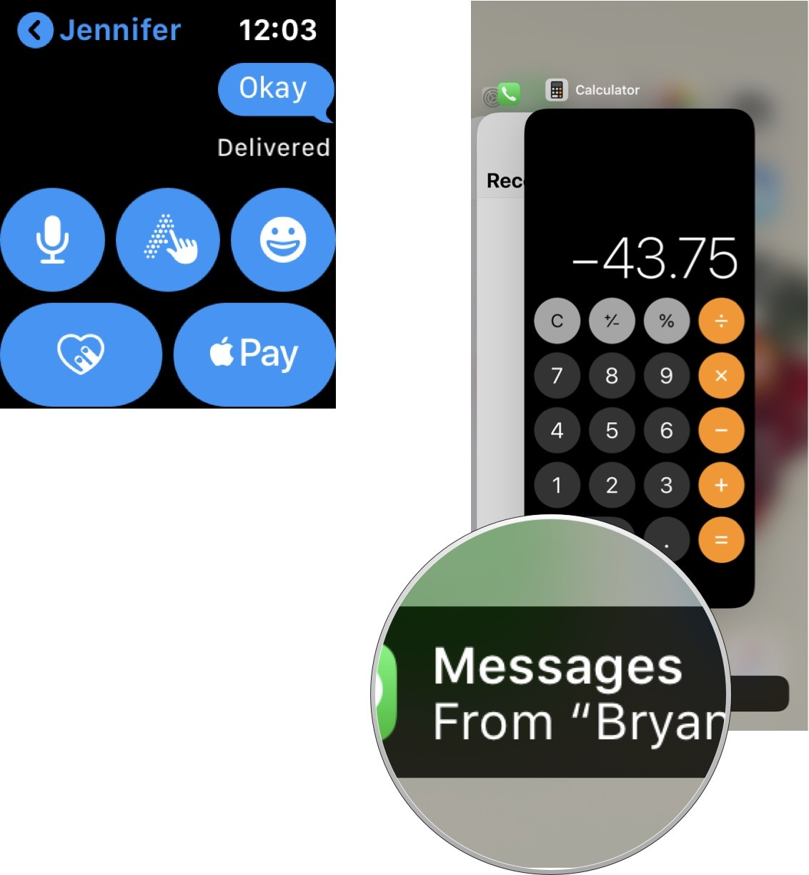 transfer messages to iPhone