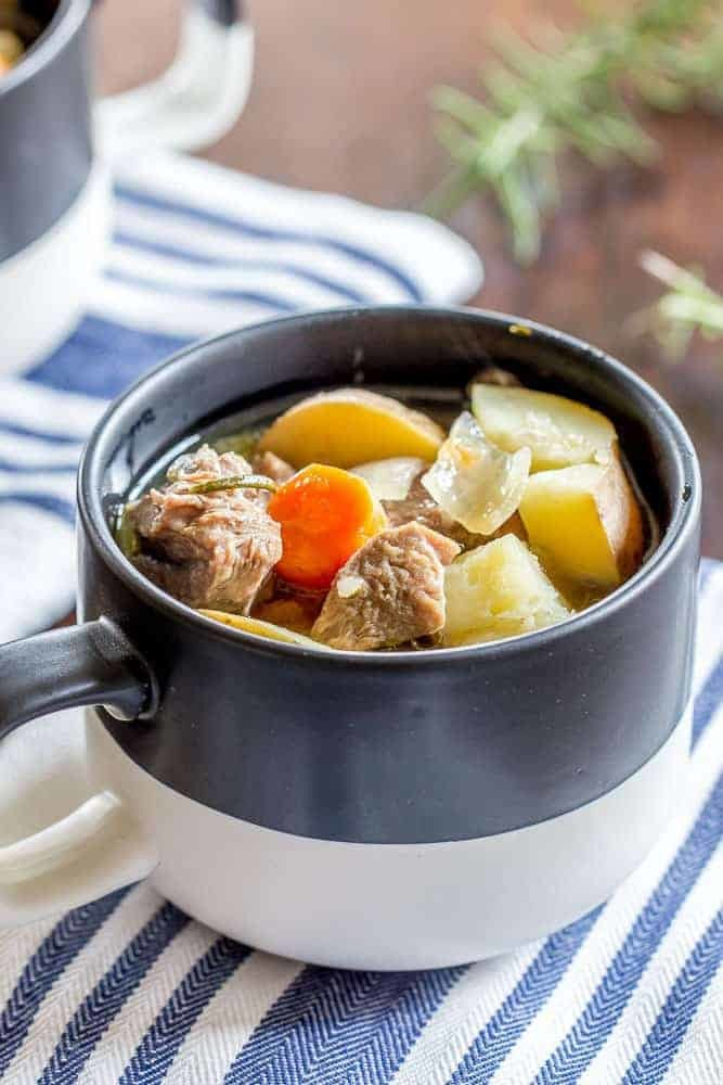 Stetted Instant Pot Lamb Stew