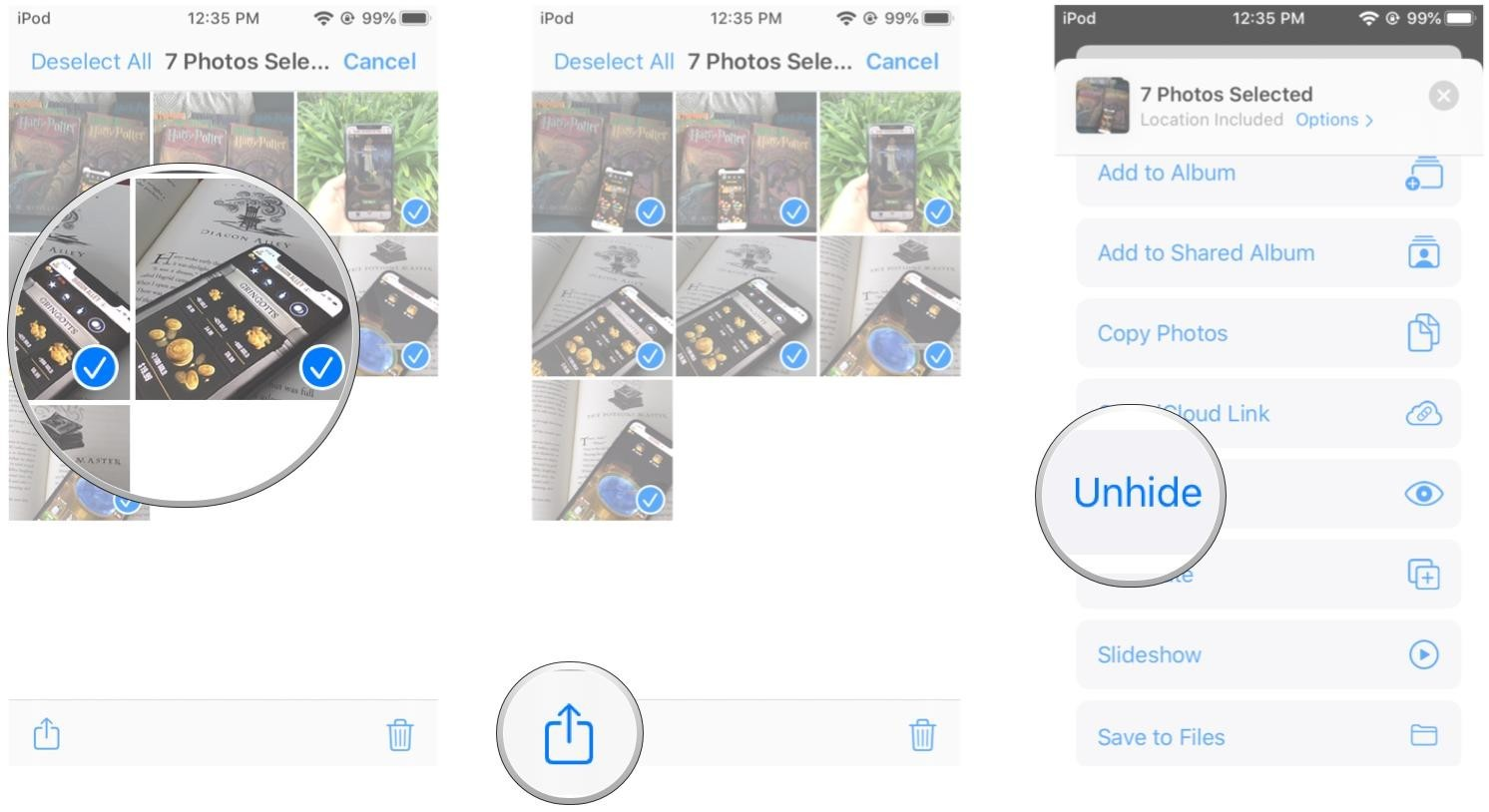 How to hide images in the Photos app on iPhone and iPad | iMore