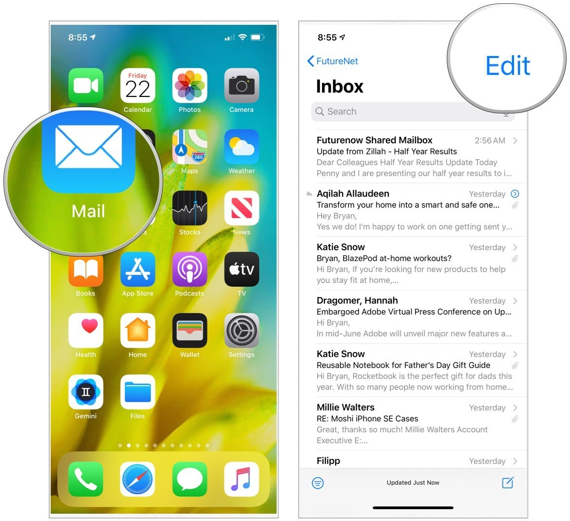 How to manage email and mailboxes in Mail for iPhone and iPad   iMore