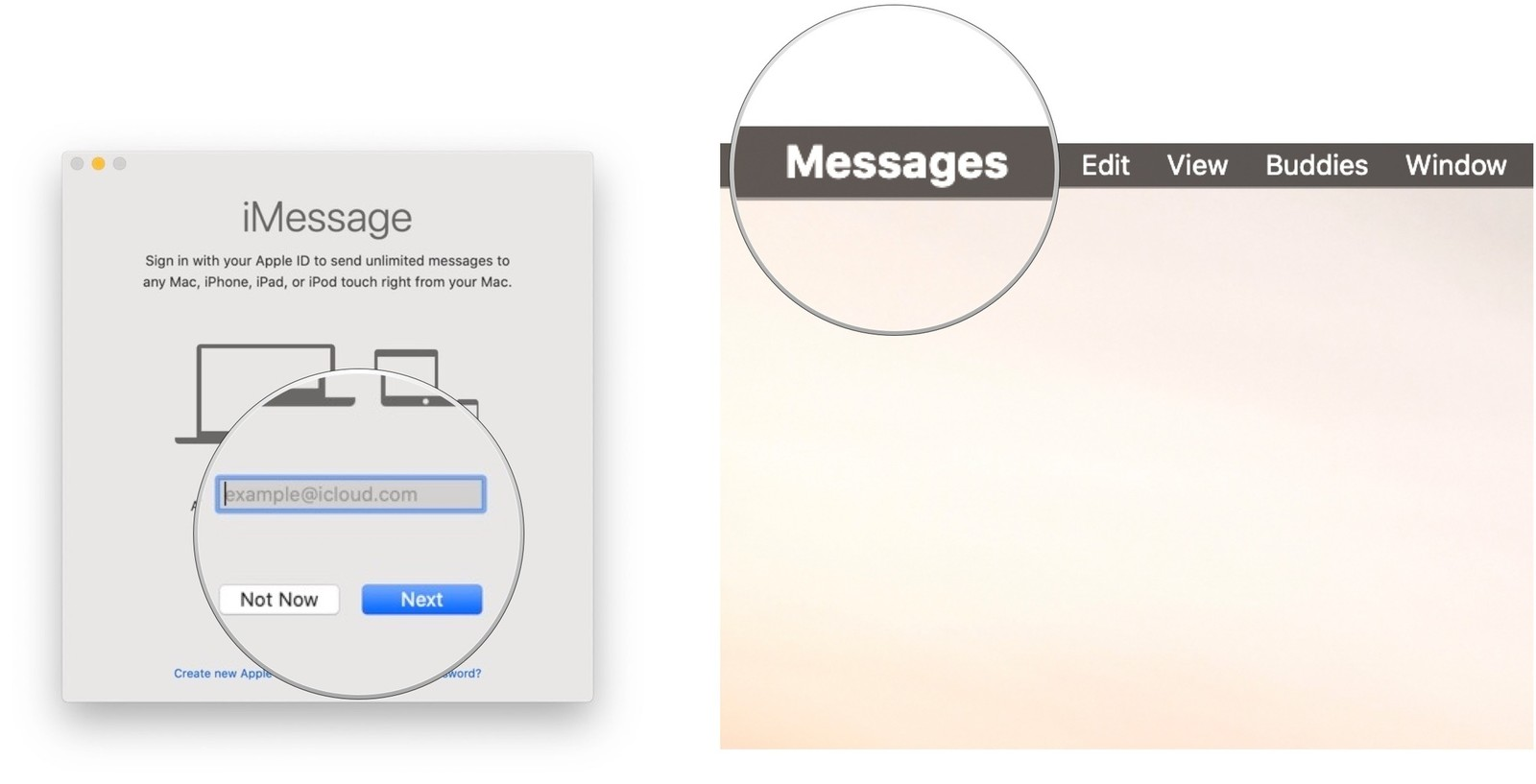 Imessage app for mac computer