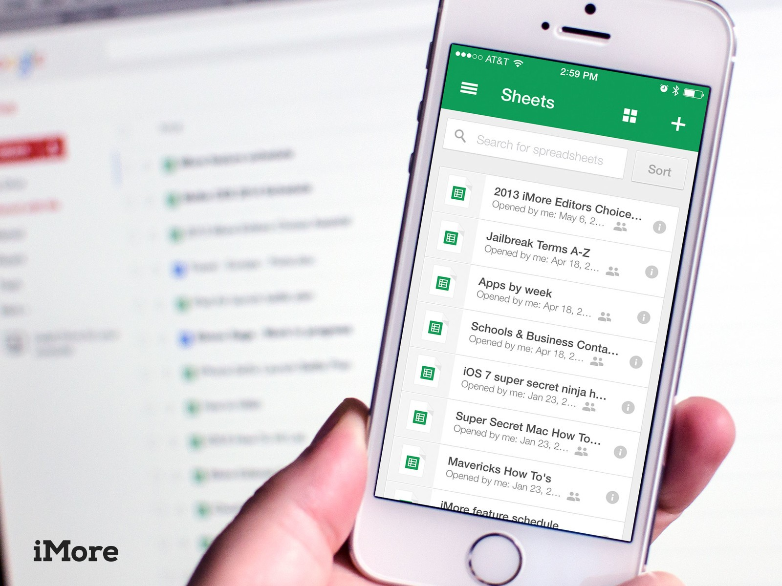Google Sheets for iPhone and iPad review: It sucks