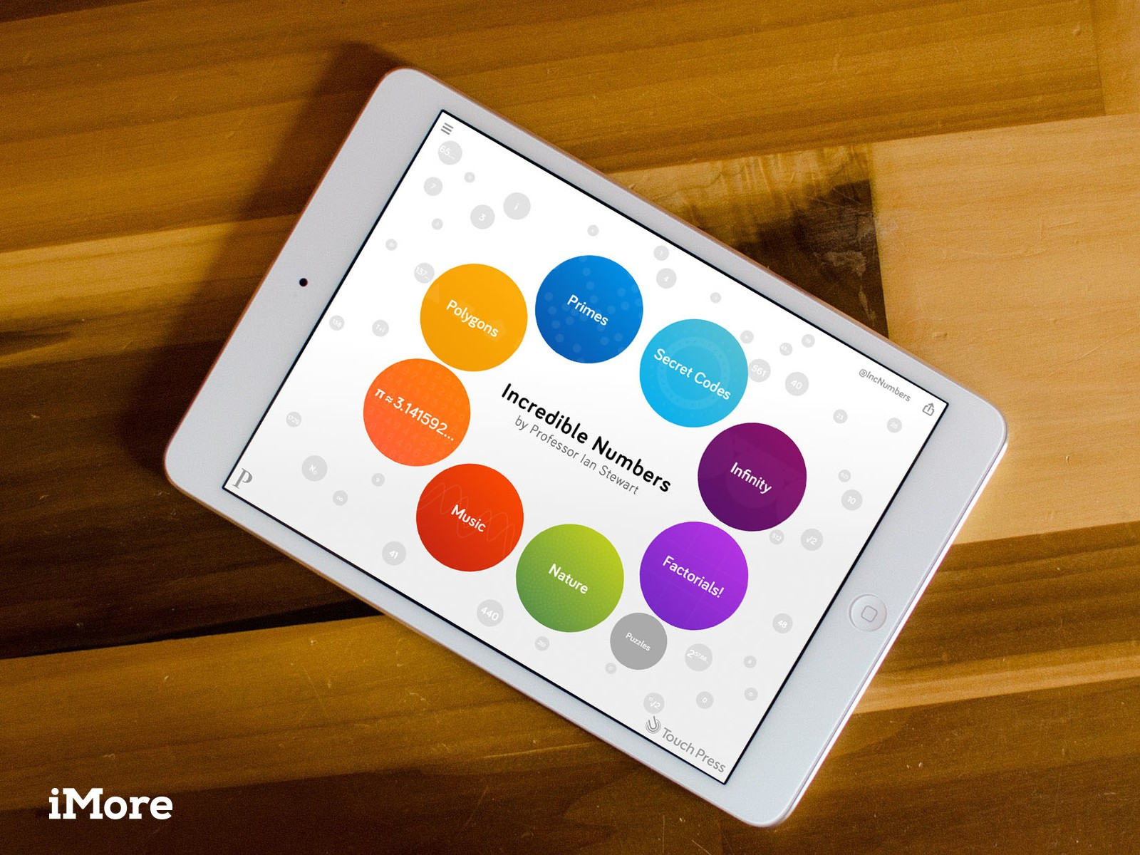 Incredible Numbers for iPad want to show you the beauty of math