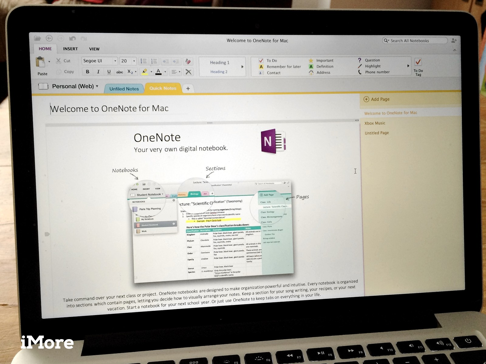 OneNote for Mac lets you find and copy text from images