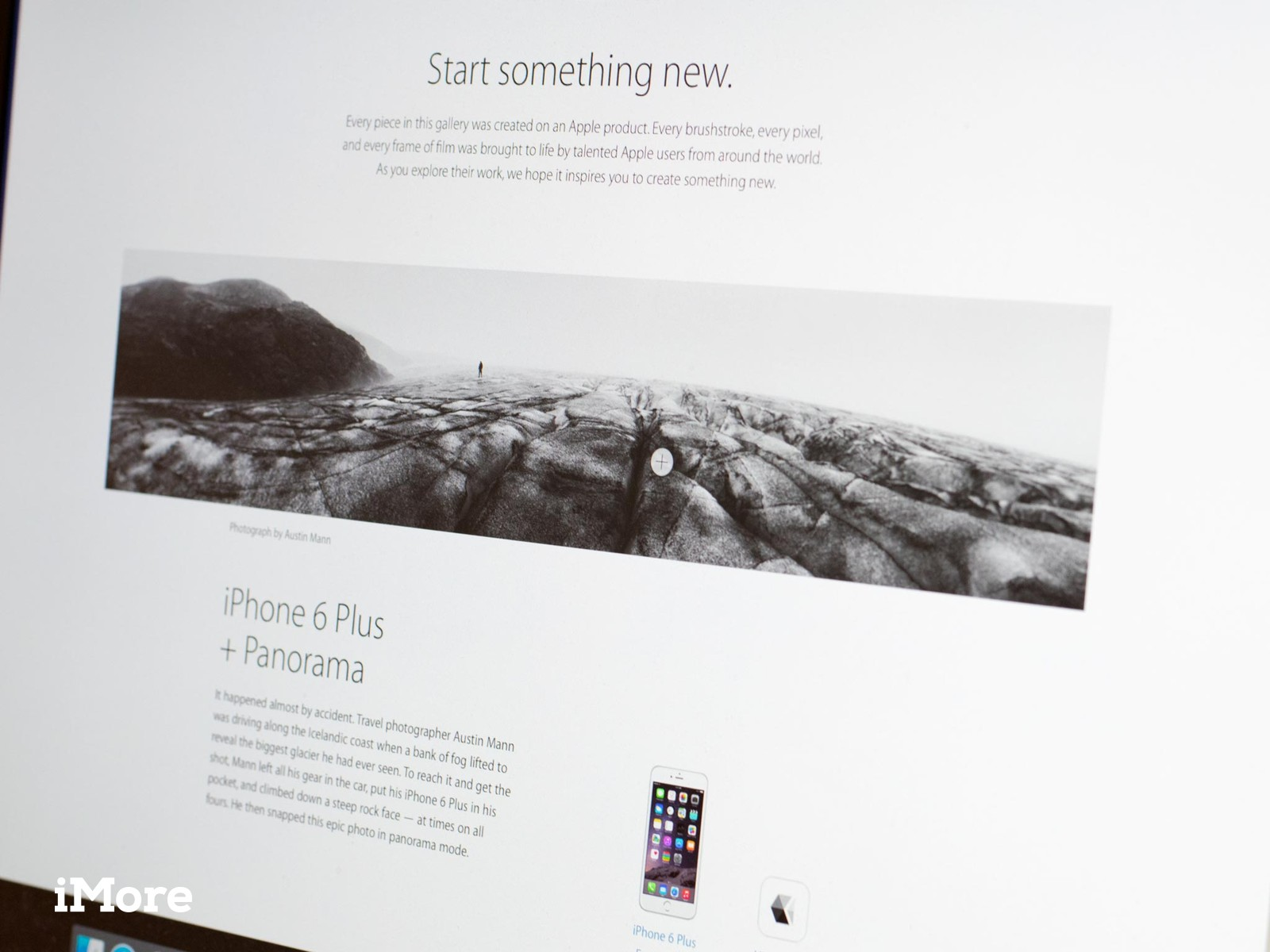 Apple's 'Start something new' website hopes to inspire you to create with Apple products