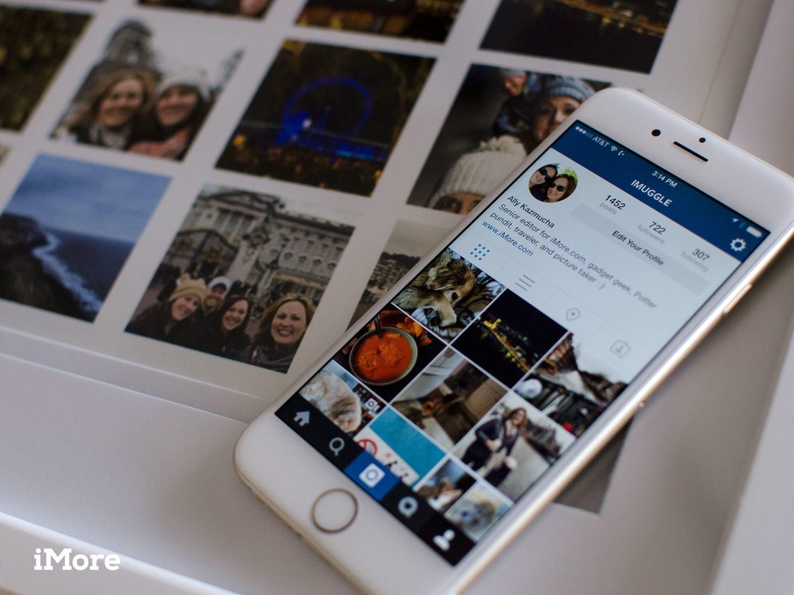 DIY: How to make an awesome wall collage using your Instagram photos!