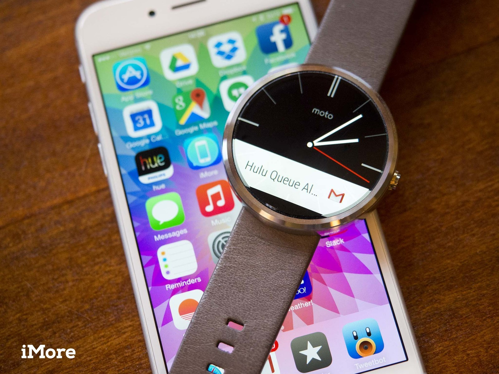 Google's working on Android Wear for iPhone