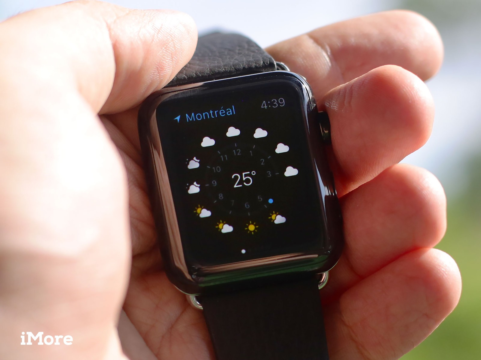 How To Check The Weather On Your Apple Watch Imore