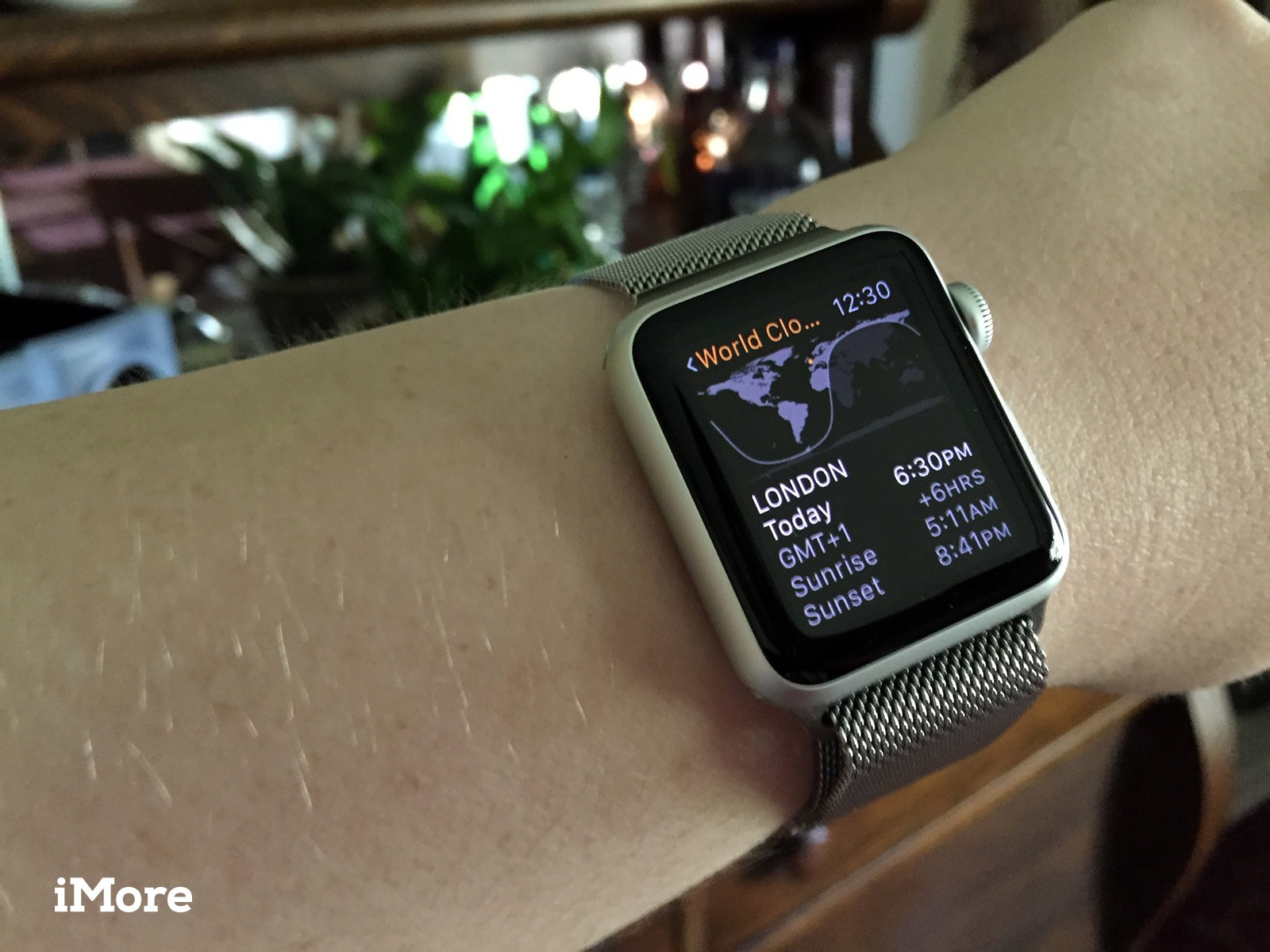 How to access and add world clocks on Apple Watch