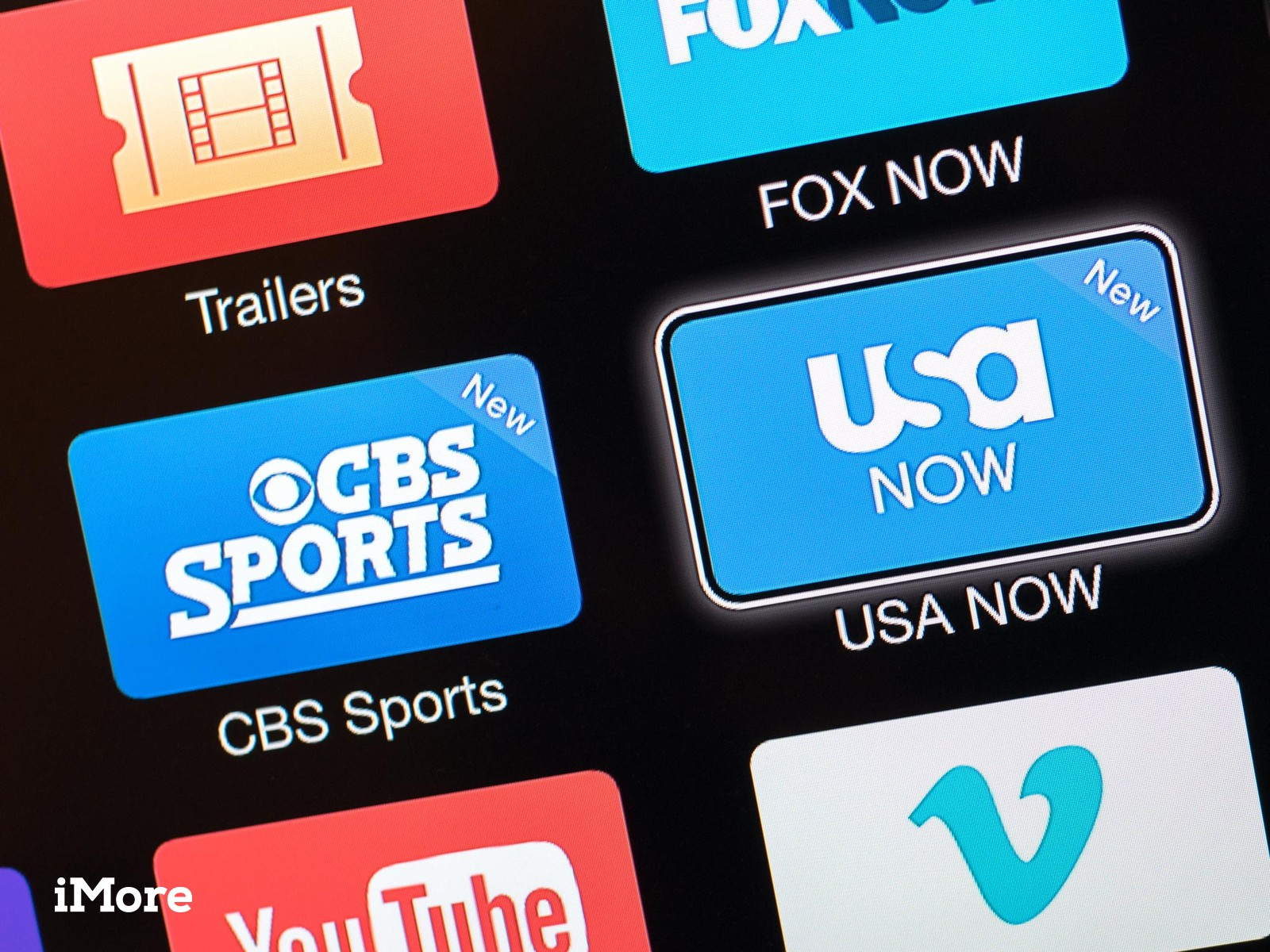 Apple TV adds CBS Sports, USA NOW to its channel lineup