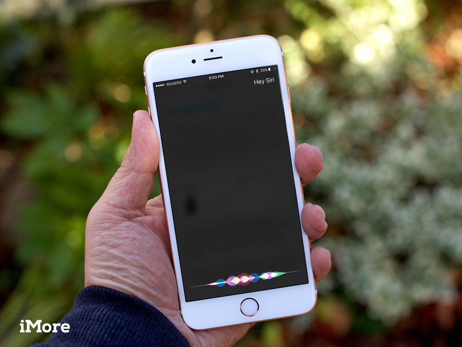 How to type instead of talk to Siri