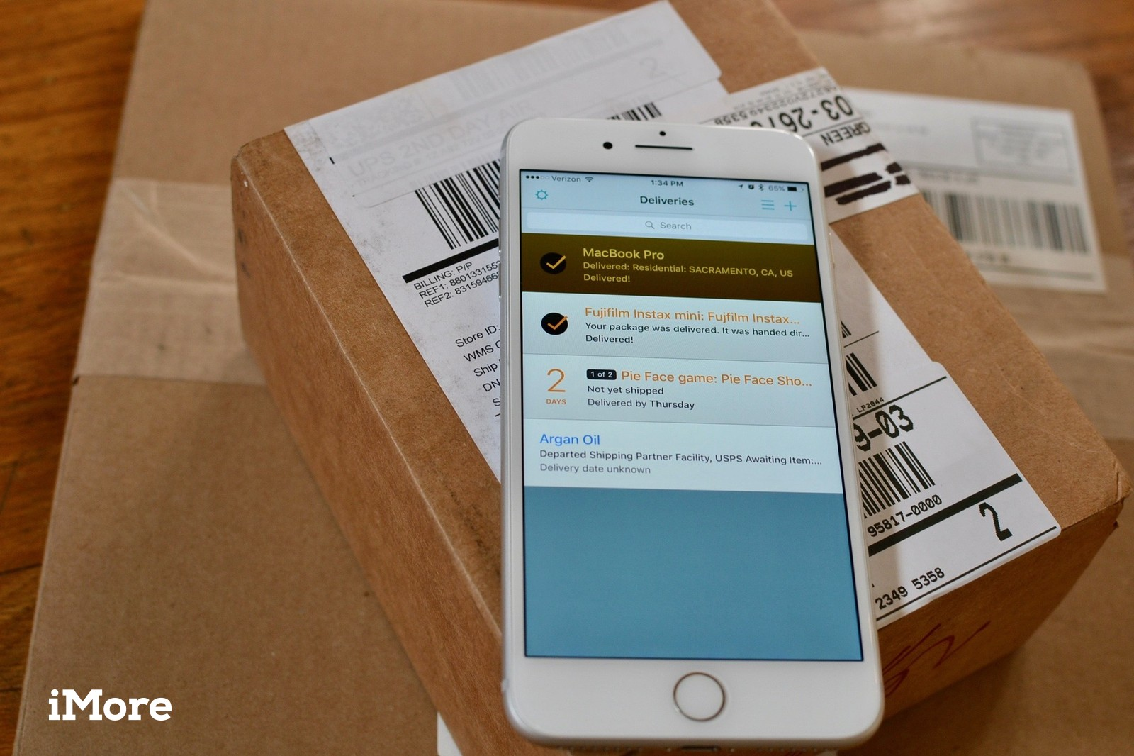 Package Tracking on the iPhone