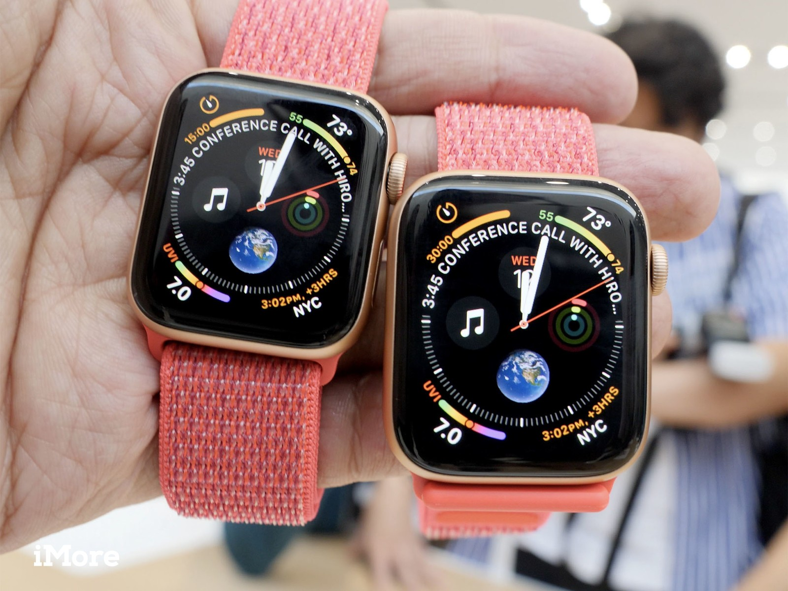 Larger screen for Apple Watch