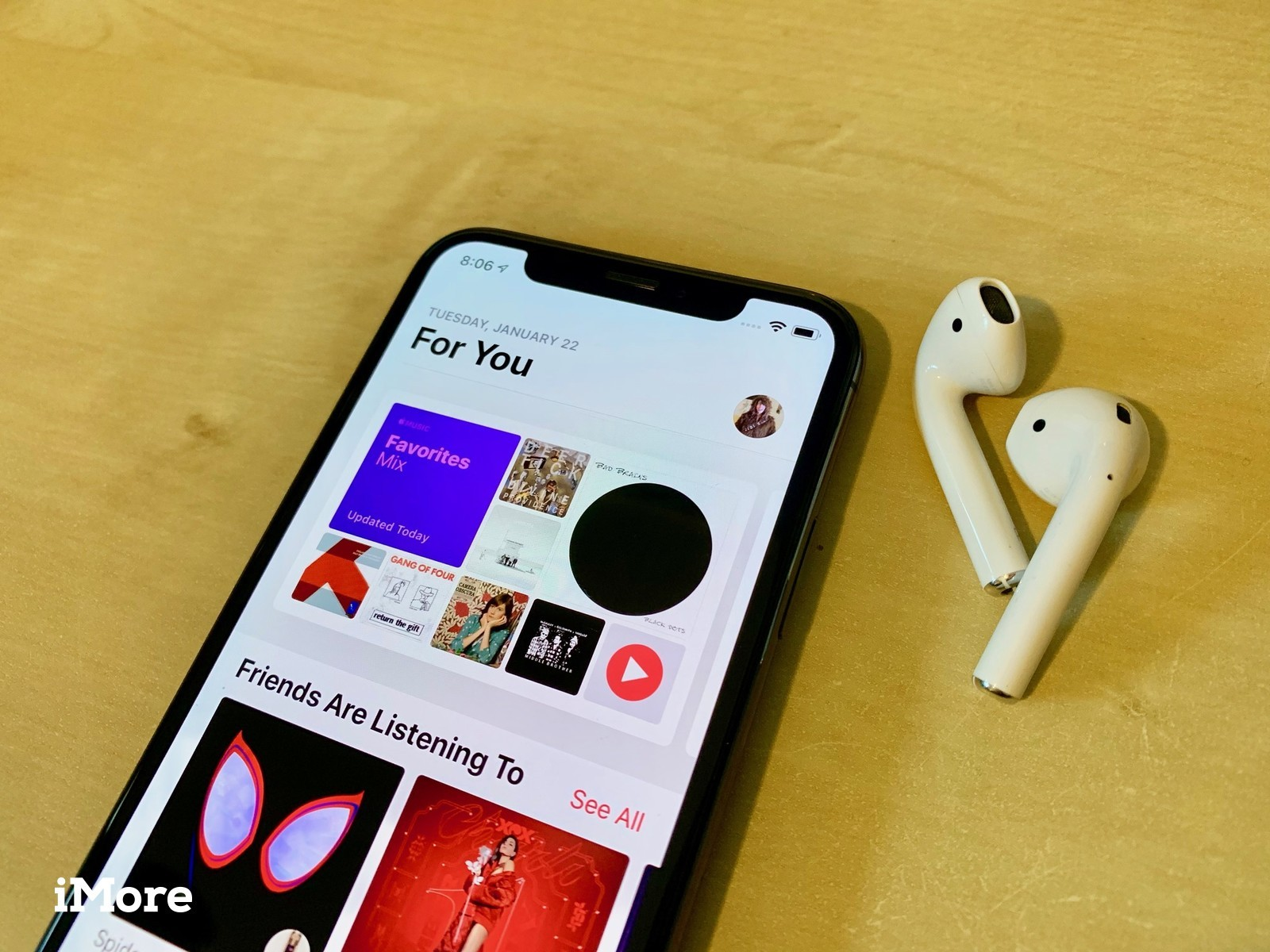 AirPods and Apple Music