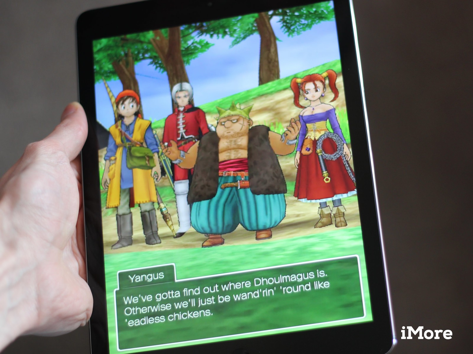 Revamped dragon quest viii rpg lands on ios imore dragon quest viii for ios gumiabroncs Gallery