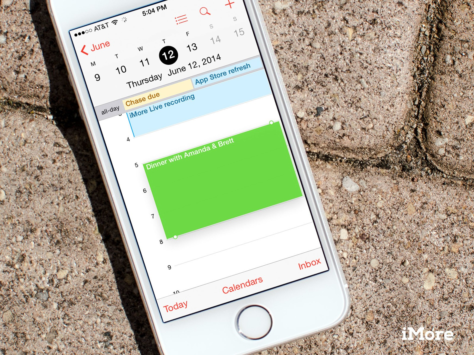 How to quickly change or move a calendar event on iPhone and iPad