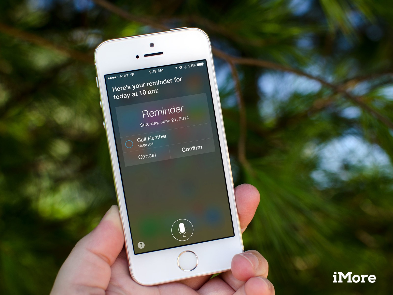 add reminder iphone how to create time based reminders with siri imore 8245