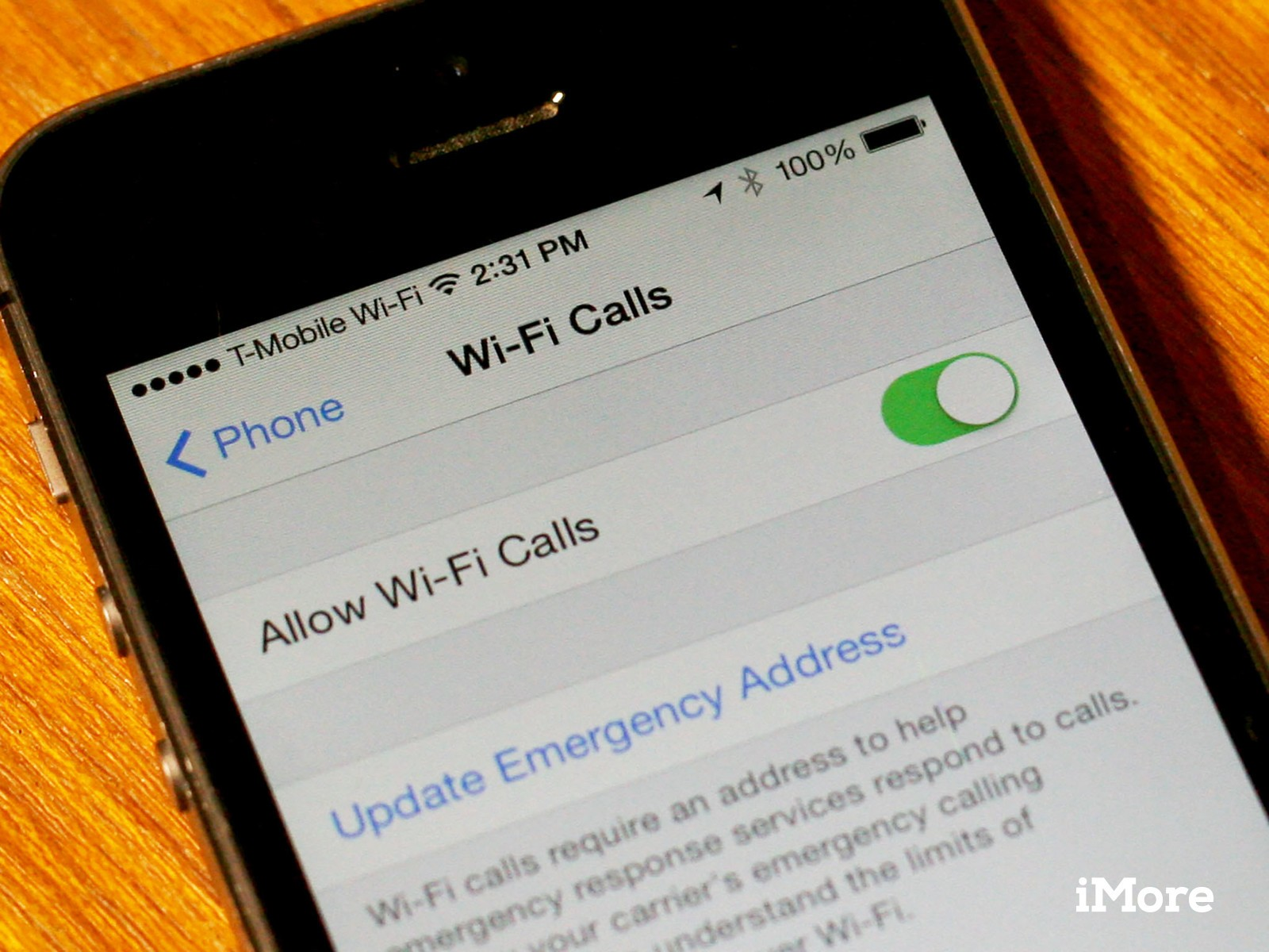 Why doesn't Wi-Fi calling work on the iPhone 5?