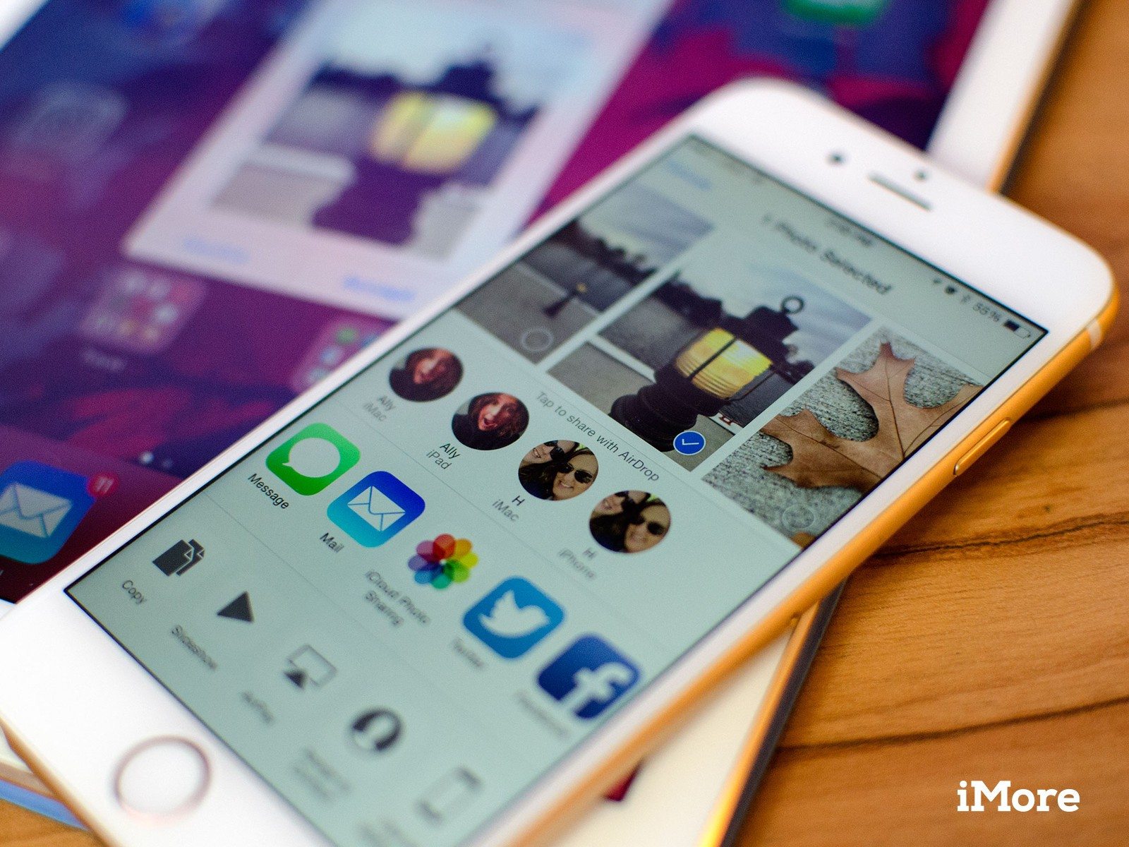 How to AirDrop files between iPhone and iPad
