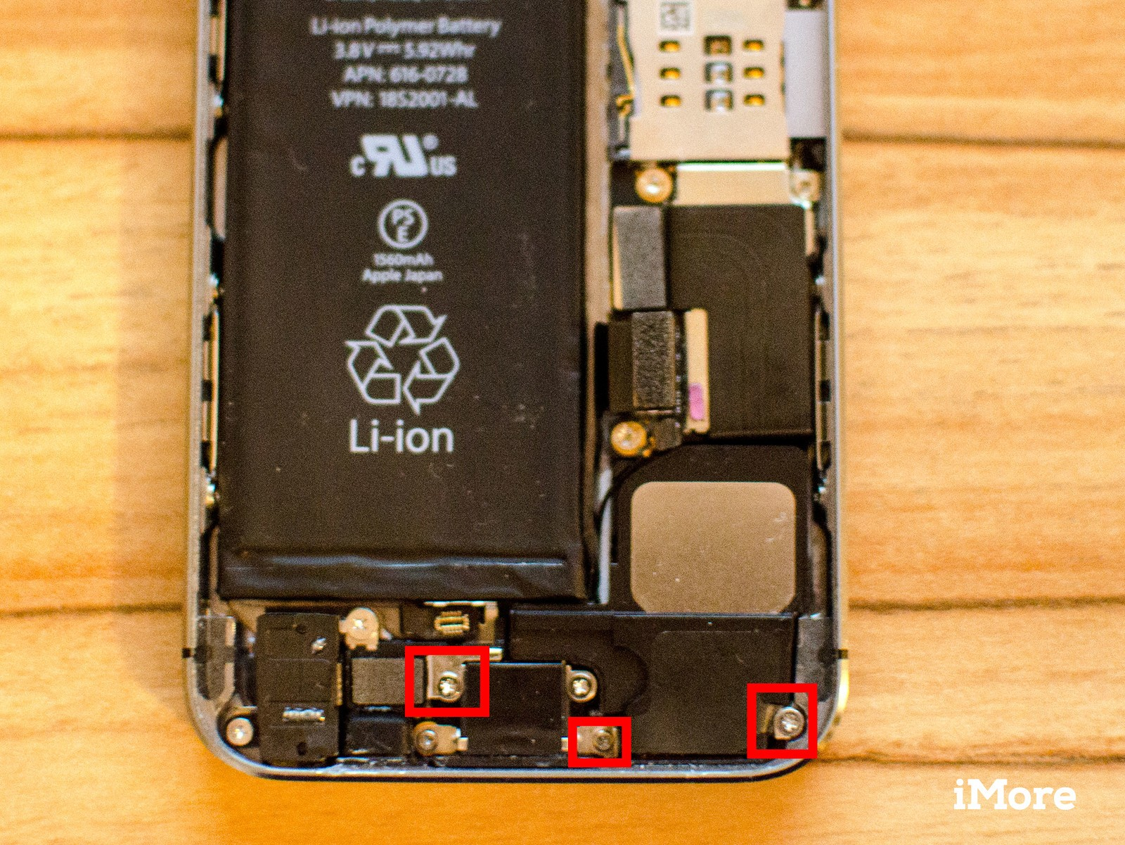 How to replace a blown loud speaker in an iPhone 5s