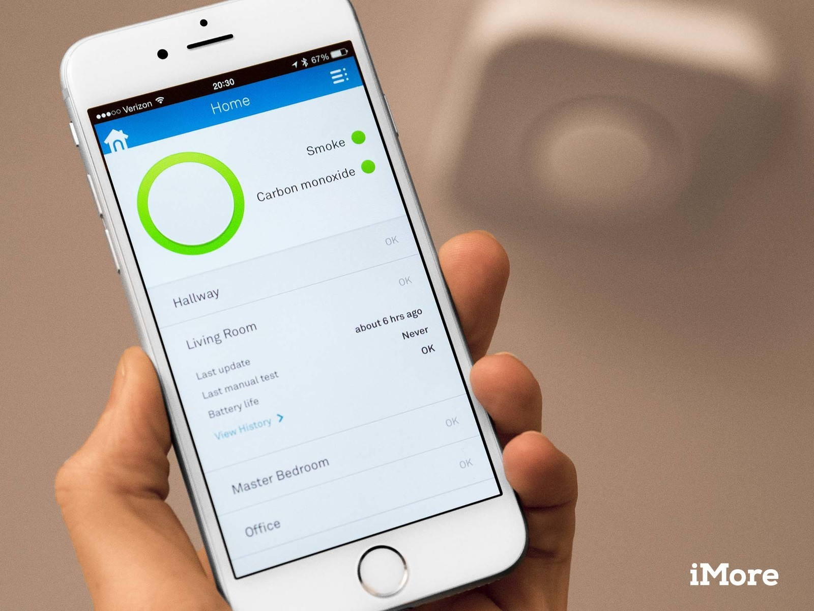Nest Protect app