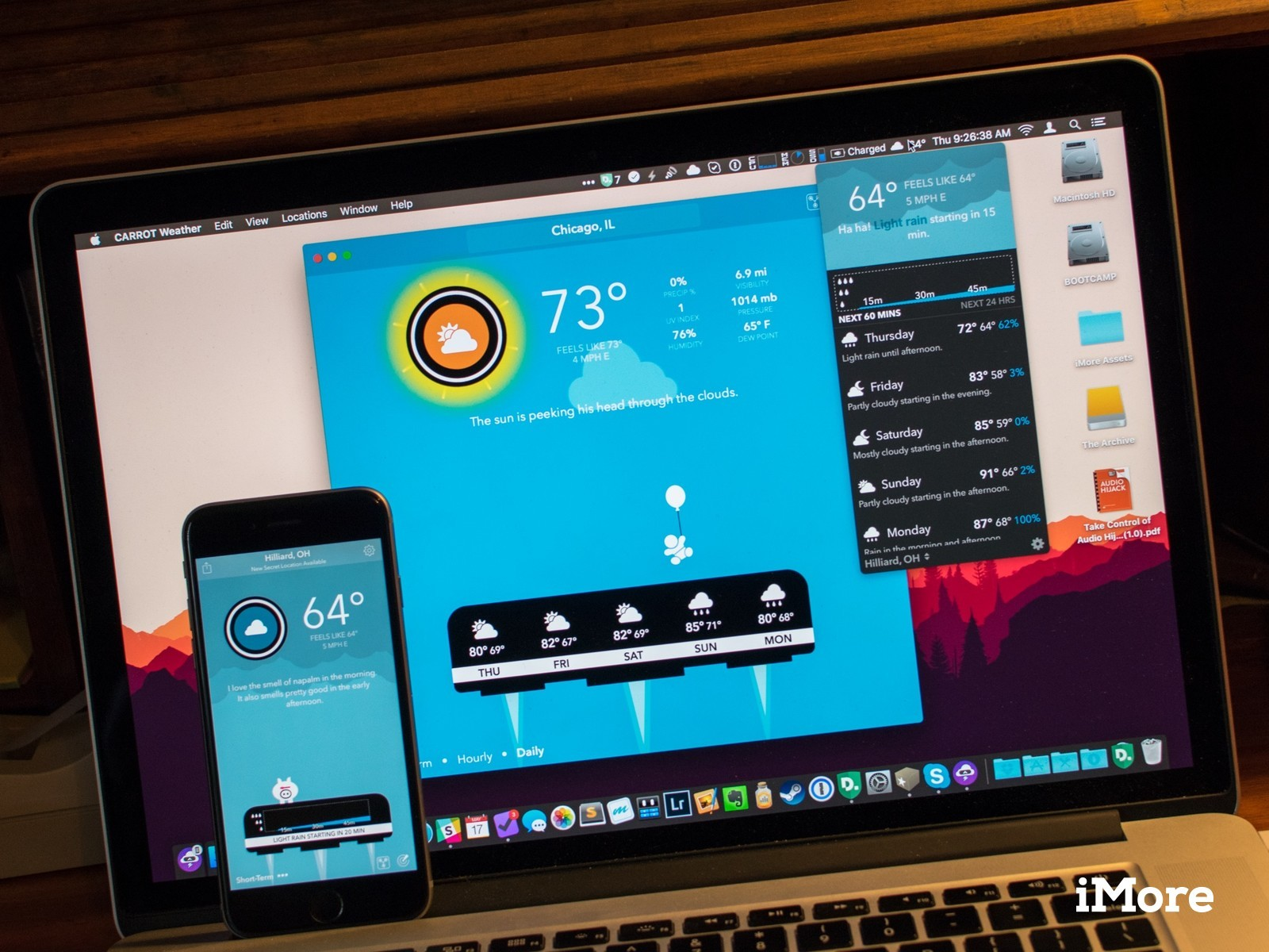 CARROT Weather hits the Mac alongside major iPhone and iPad app update
