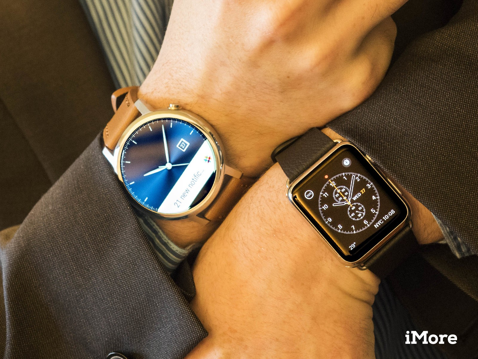 Android Wear and Apple Watch