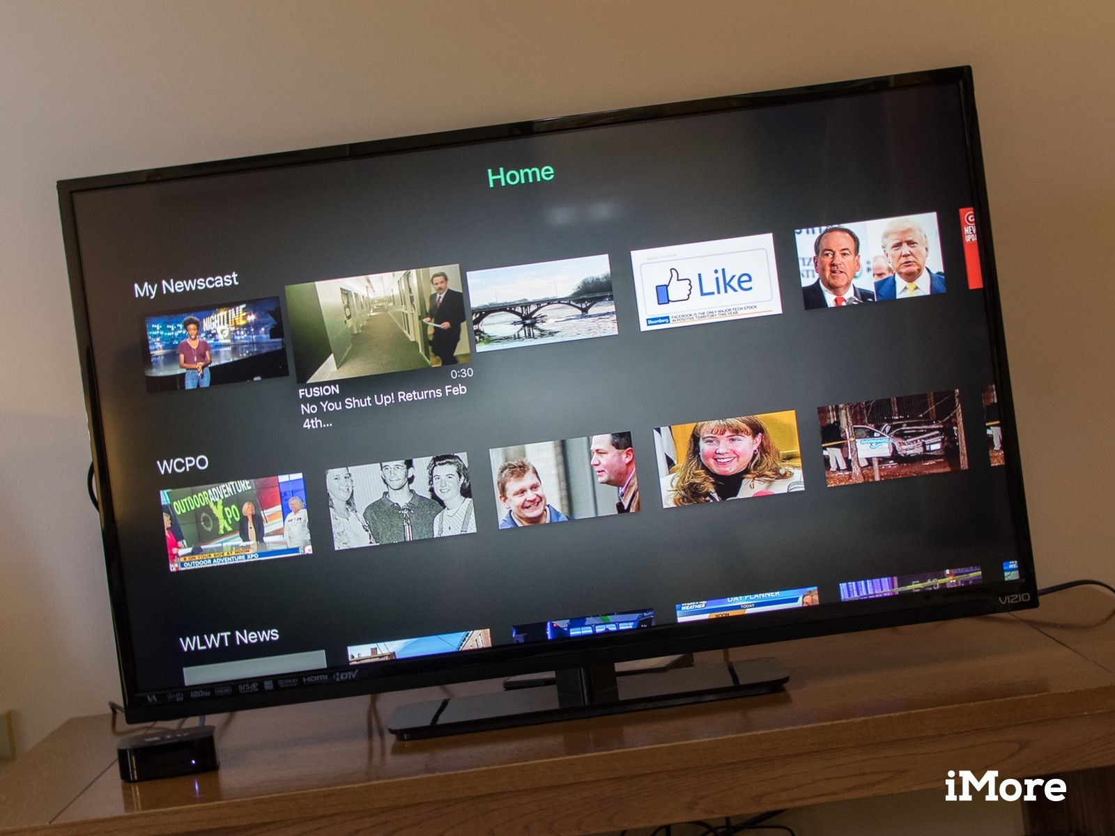 Watchup brings its custom newscasts to the Apple TV