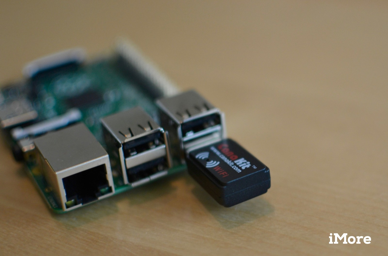 Raspberry Pi with Wi-Fi adapter