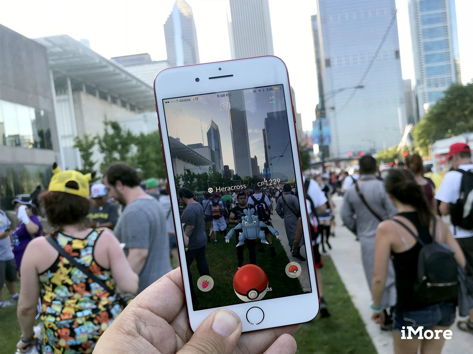 Pokemon GO player blocks millions of people from playing images