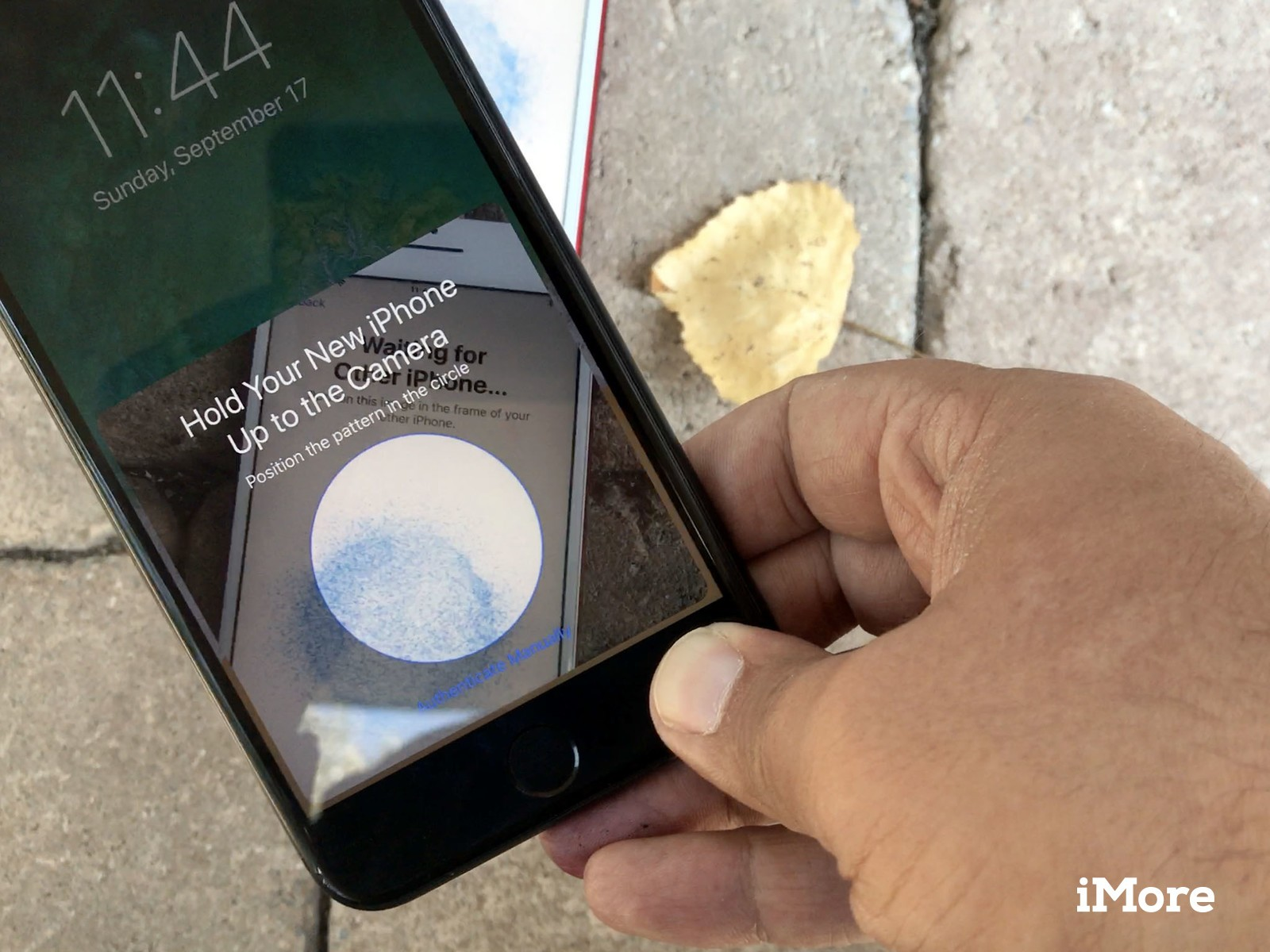 How to move info from old iphone to new phone