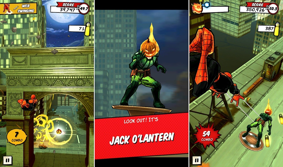 Spider-Man Unlimited update weaves in new levels and bosses